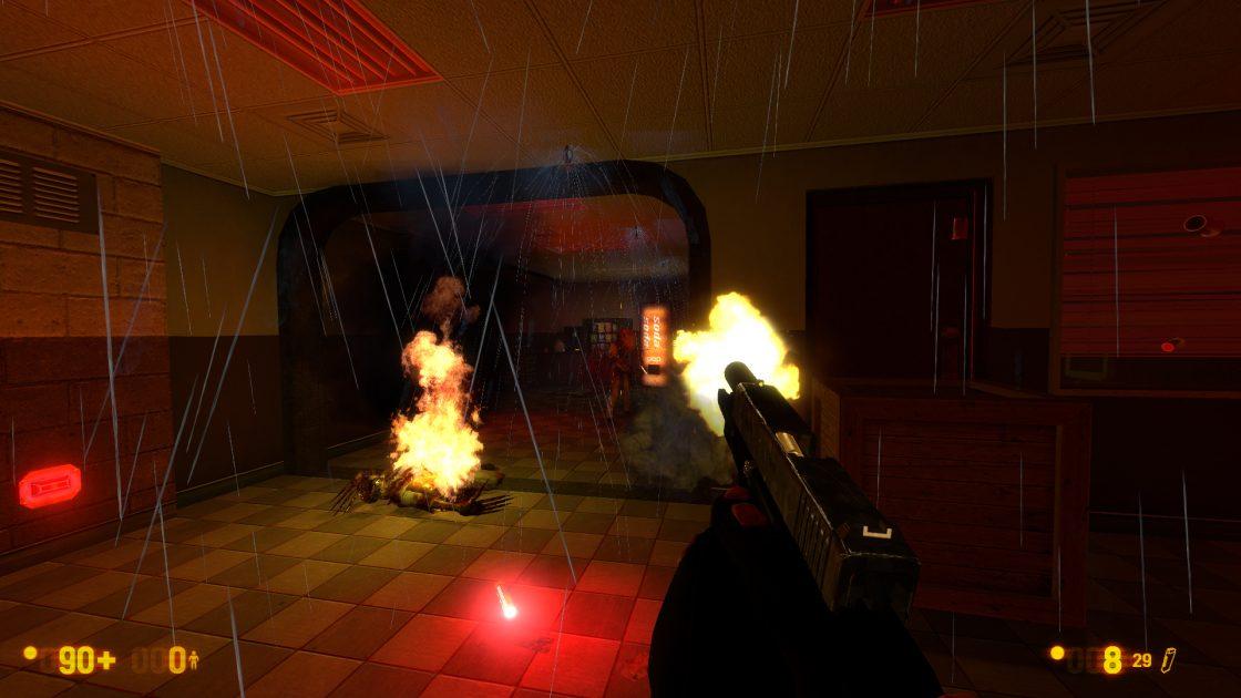 Black Mesa MacBook OS X Version gameplay