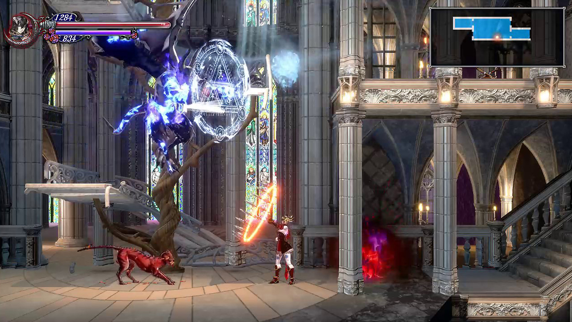 Bloodstained: Ritual of the Night MacBook Version gameplay