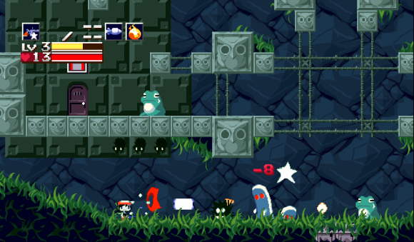 Cave Story for macOS gameplay