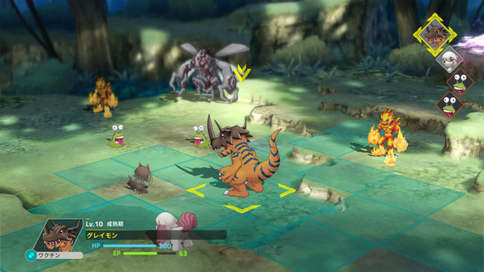 Digimon Survive for MacBook gameplay