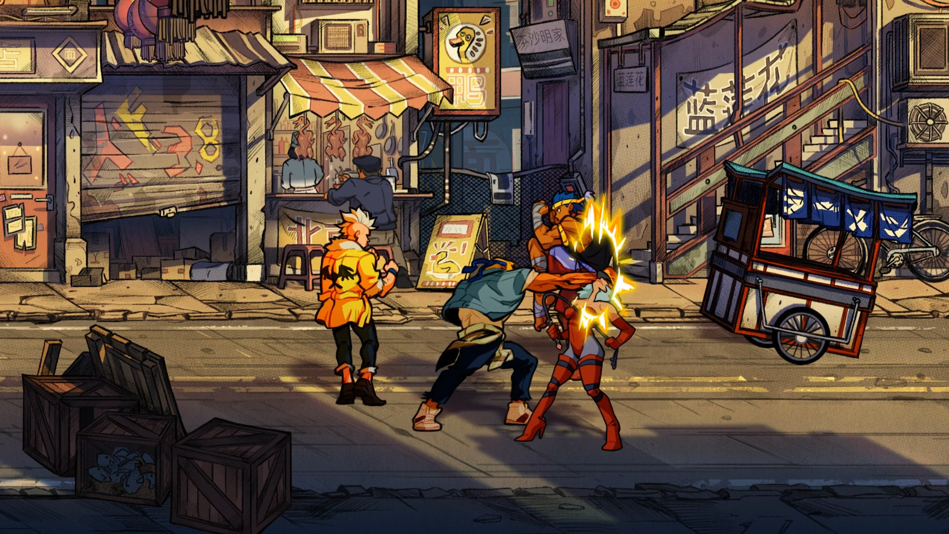 Streets of Rage 4 MacBook Version gameplay