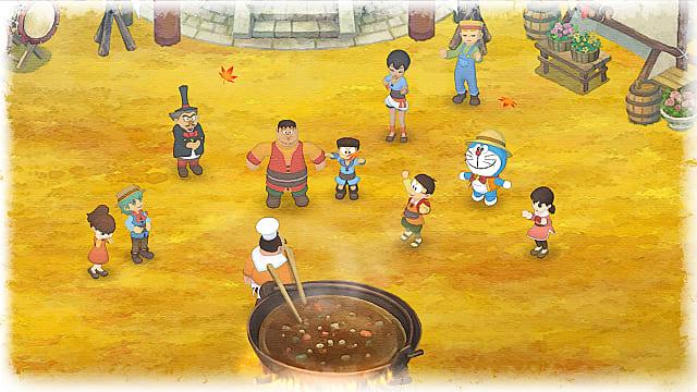Doraemon Story of Seasons for MacBook gameplay