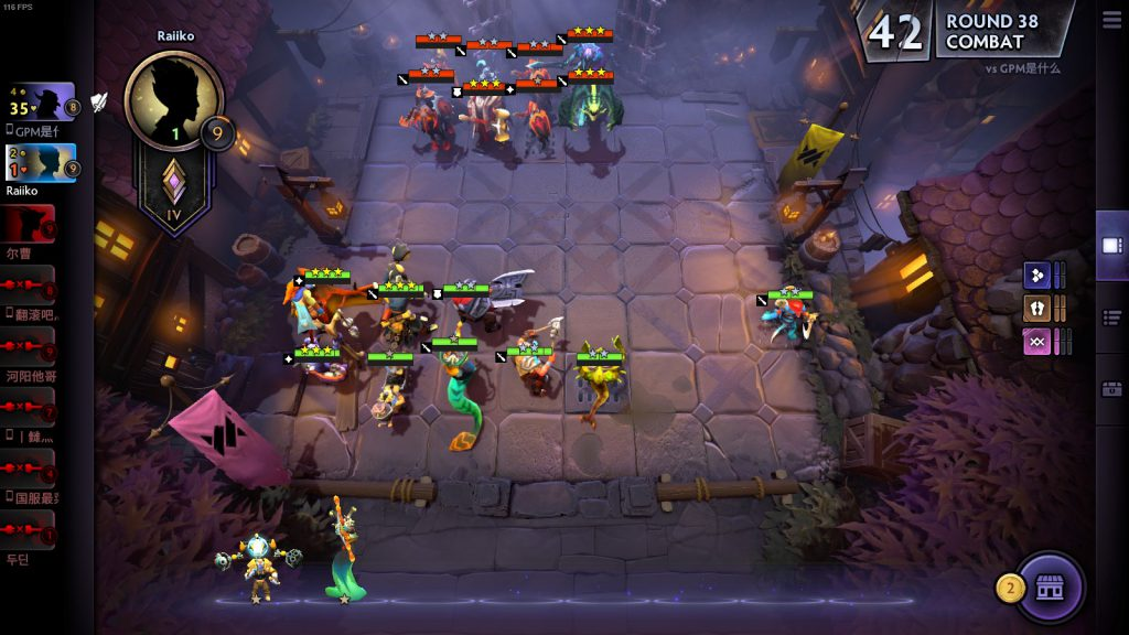 Dota Underlords for macOS gameplay