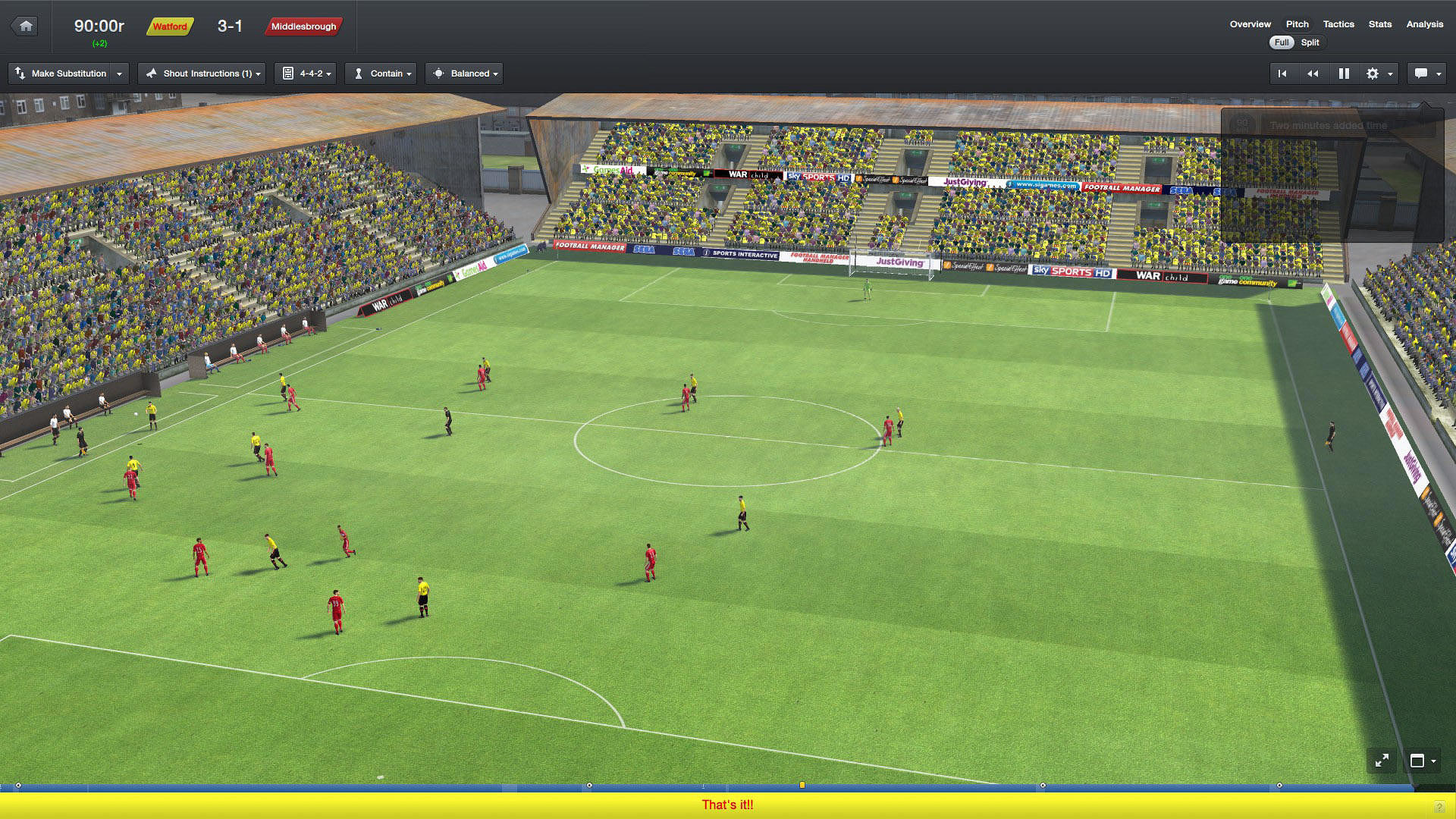 Football Manager 2016 MacBook Version gameplay