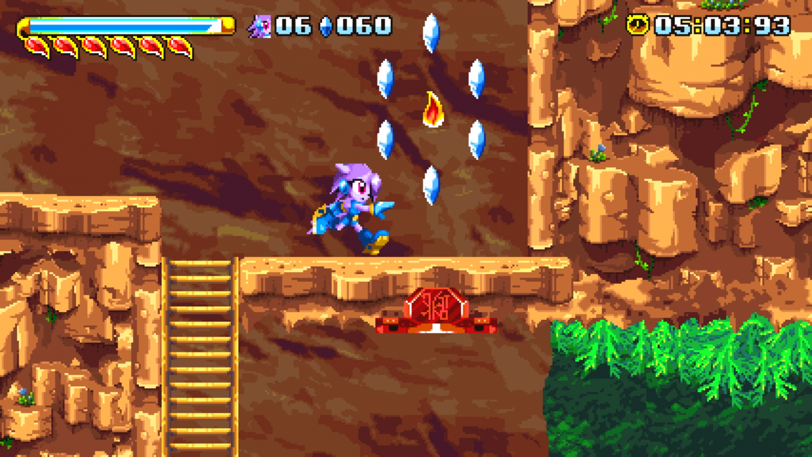 Freedom Planet MacBook Version gameplay