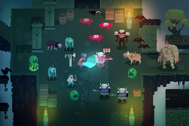 Hyper Light Drifter for MacBook gameplay