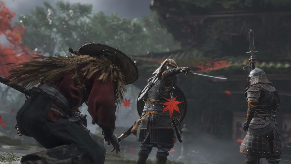 Ghost of Tsushima for MacBook gameplay