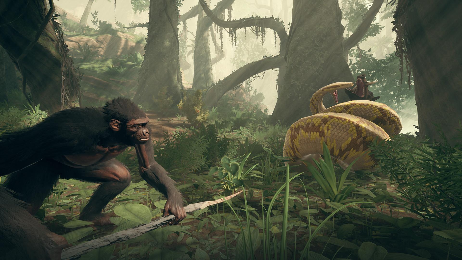 Ancestors: The Humankind Odyssey MacBook Version gameplay