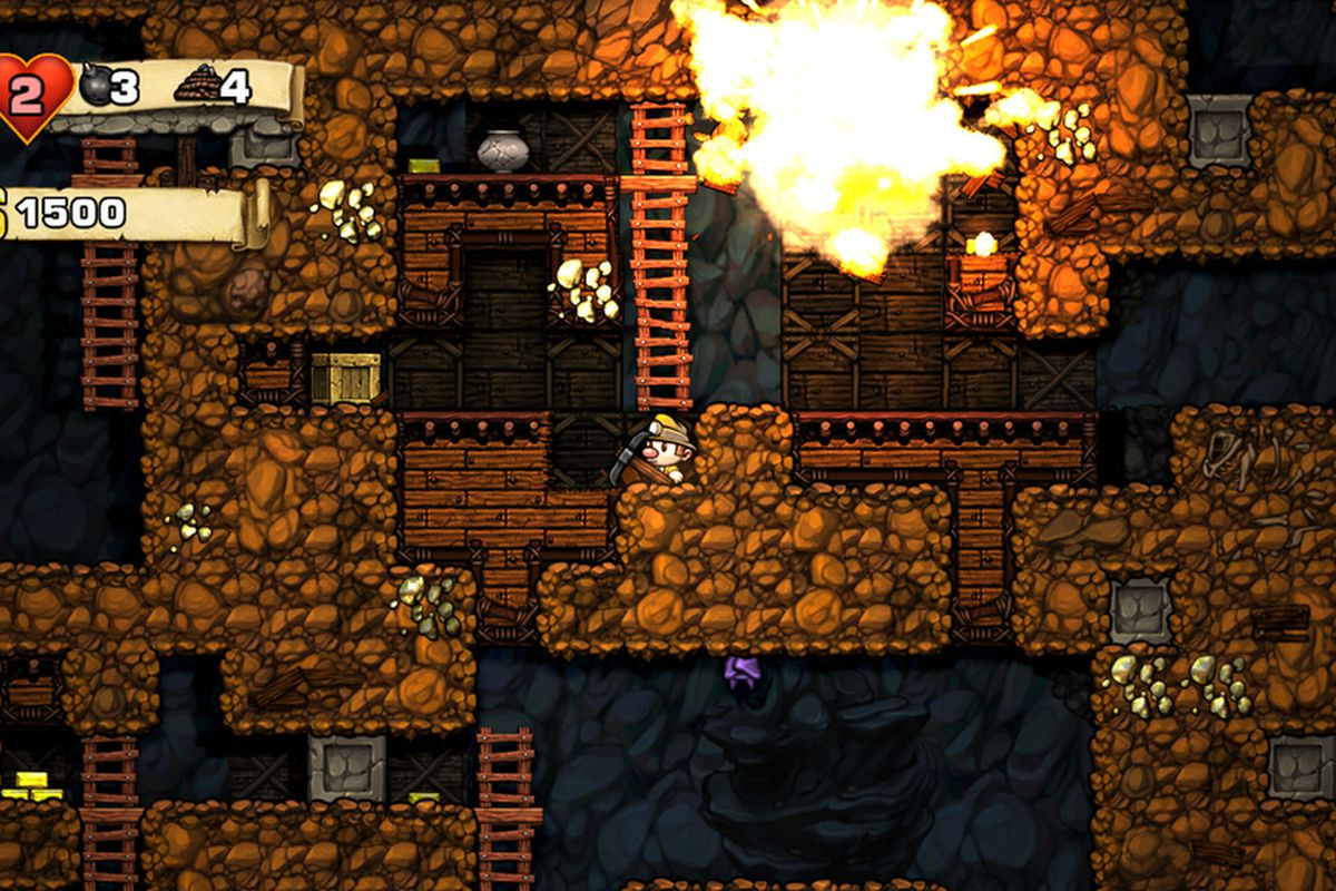 Spelunky MacBook Version gameplay