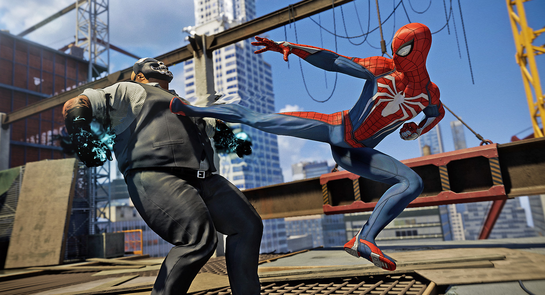 Marvel's Spider Man for macOS gameplay