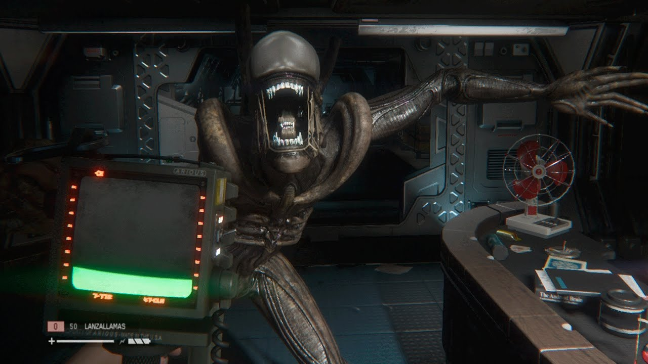 Alien: Isolation for macOS gameplay