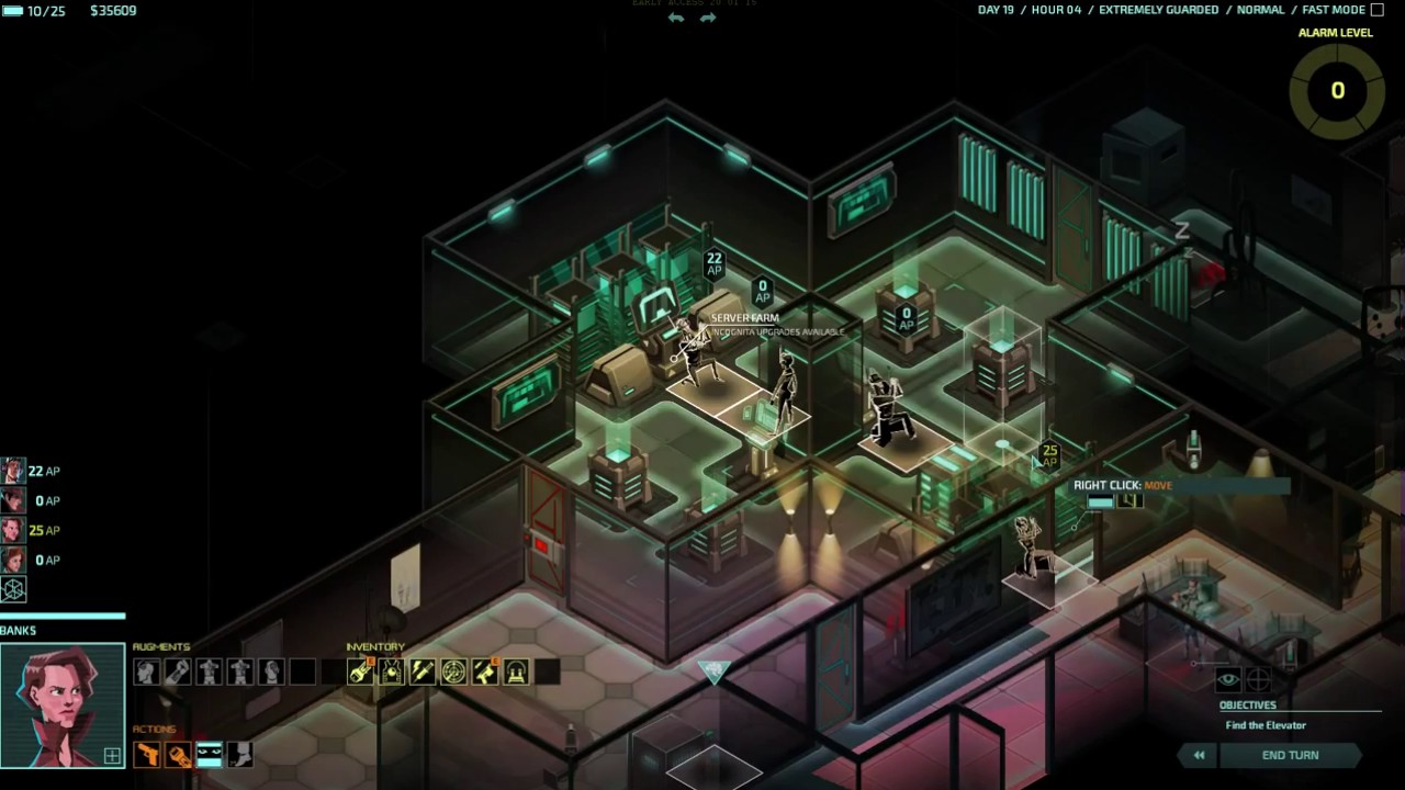 Invisible, Inc. for macOS gameplay