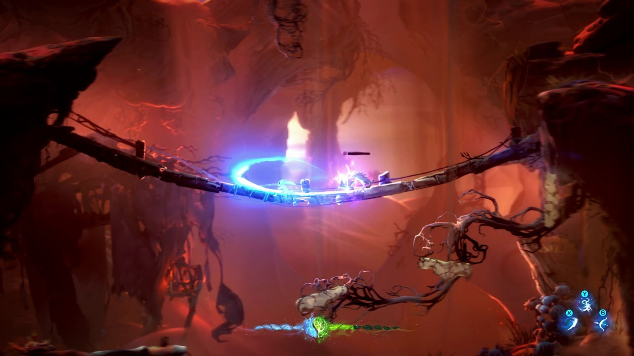 Ori and the Will of the Wisps for macOS gameplay