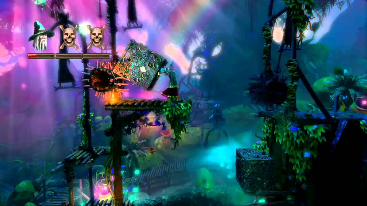 Trine MacBook Version gameplay