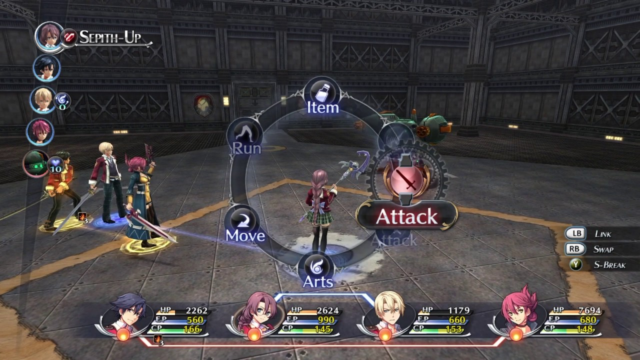 The Legend of Heroes: Trails of Cold Steel for MacBook gameplay
