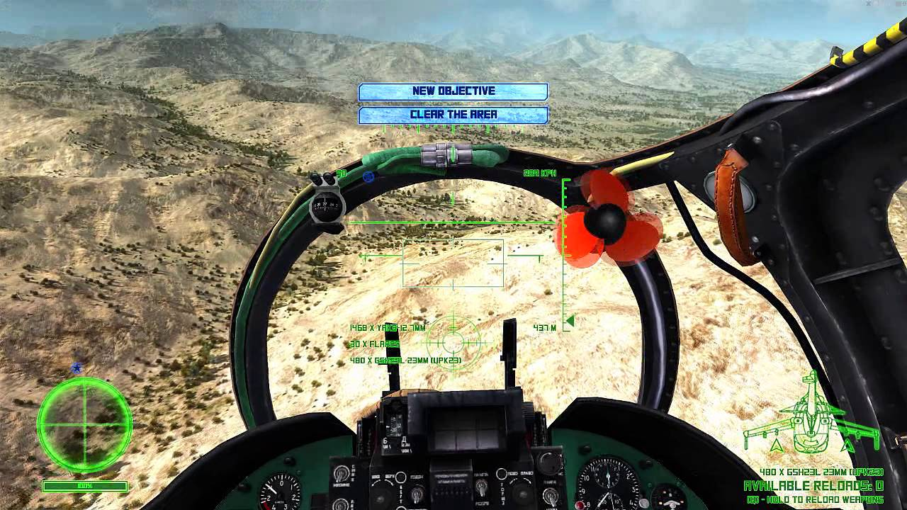 Air Missions: Hind for macOS gameplay