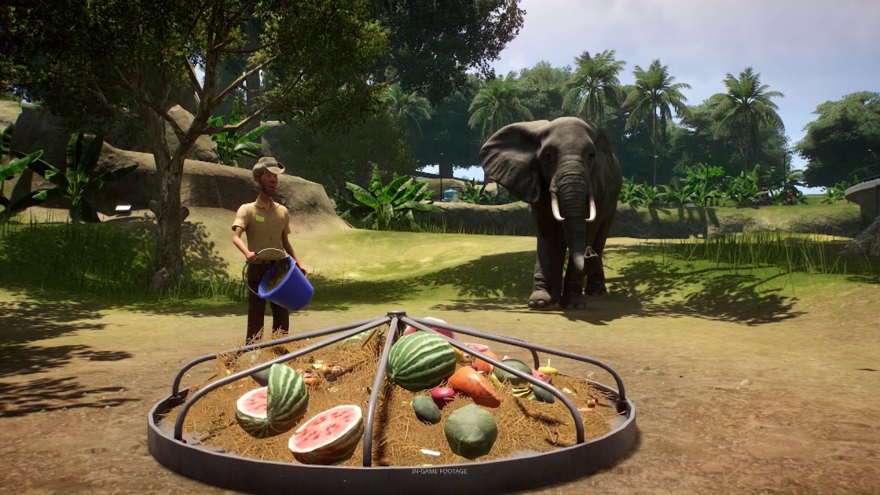 Planet Zoo for MacBook gameplay