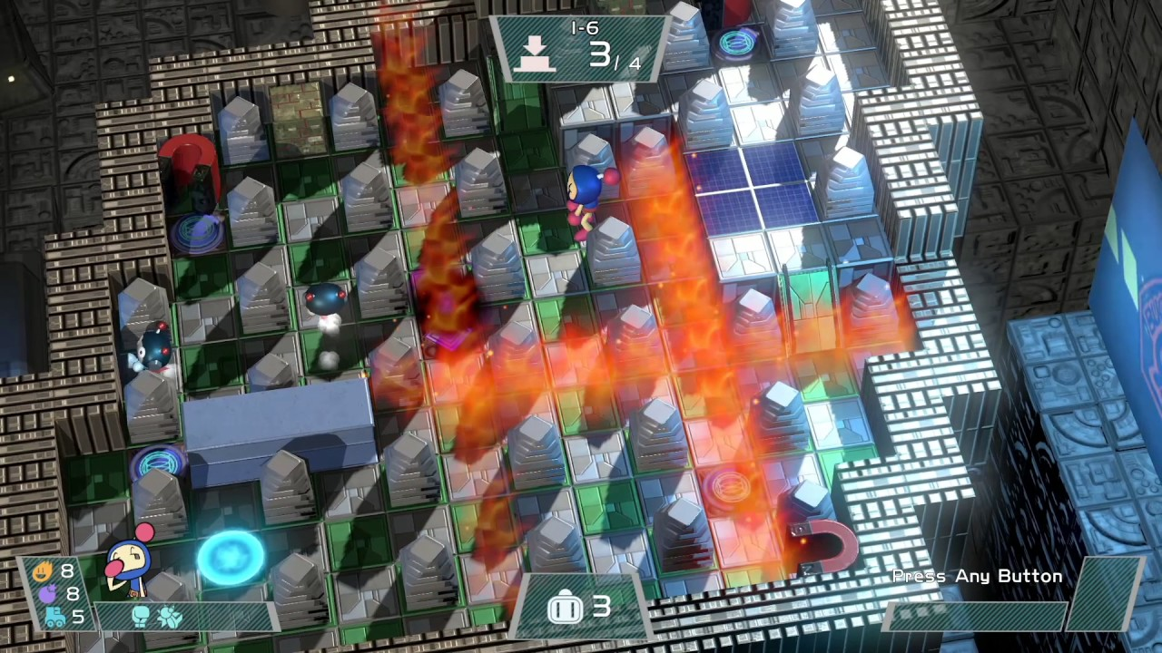 Super Bomberman R for MacBook gameplay
