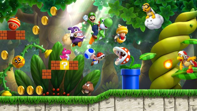 Super Mario Maker 2 for MacBook gameplay
