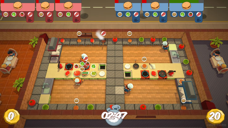 Overcooked 2 MacBook OS X Version gameplay