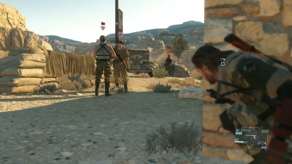 Metal Gear Solid V: The Phantom Pain Mac OS X screenshot