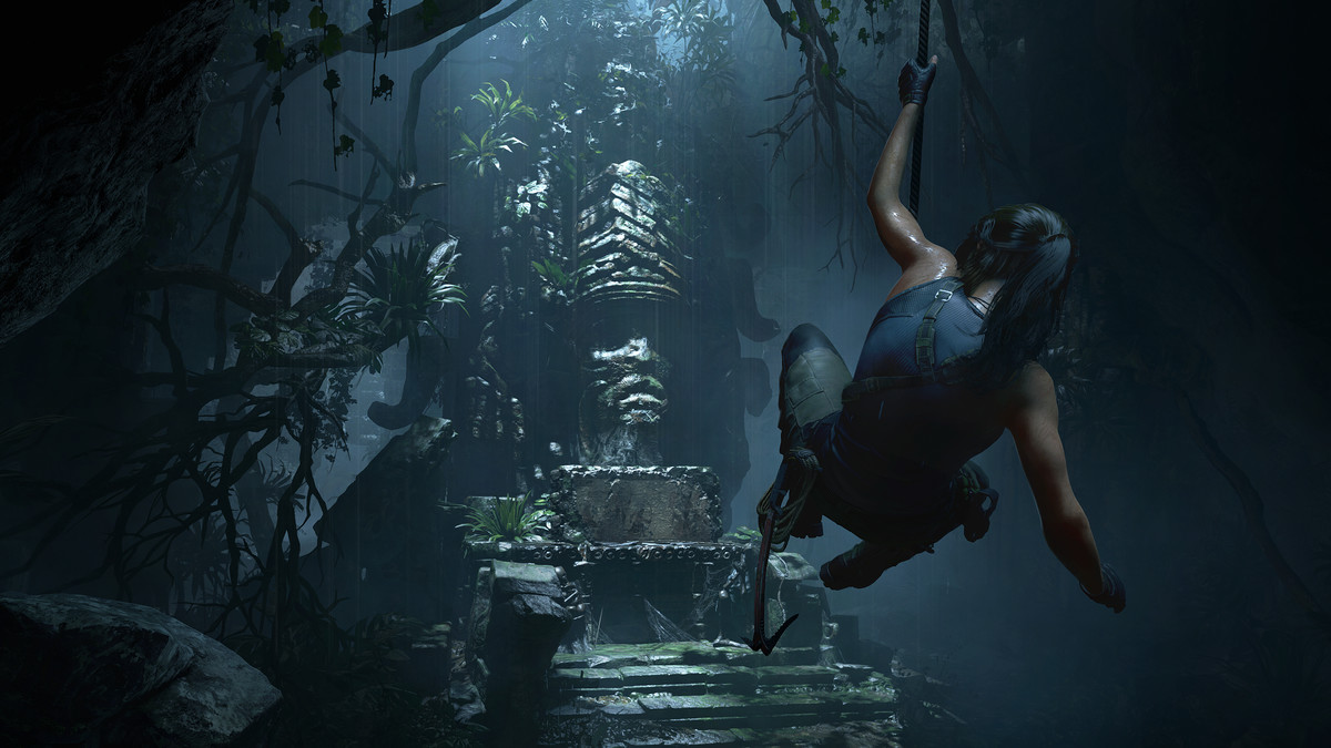 Shadow of the Tomb Raider for MacBook gameplay