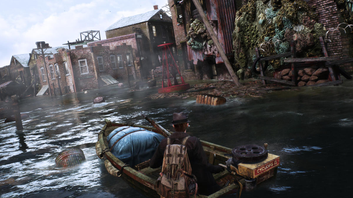 The Sinking City for MacBook gameplay
