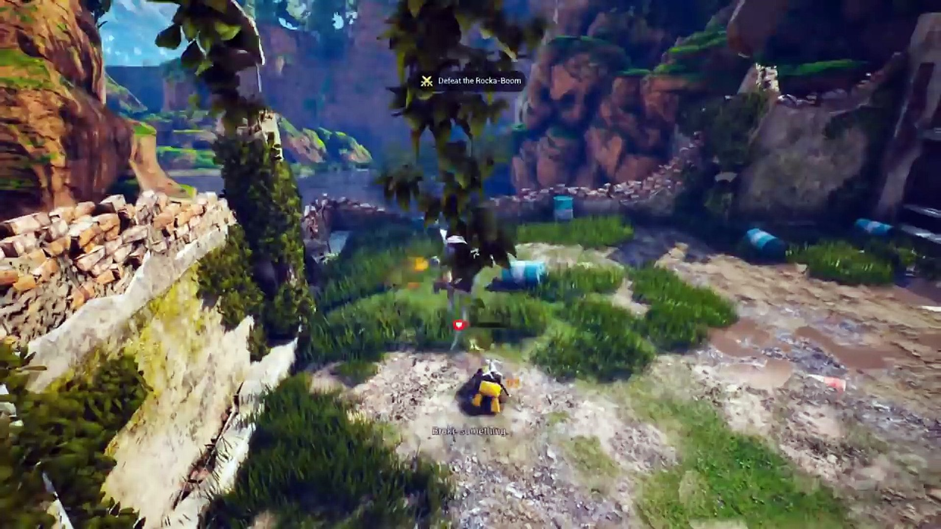 Biomutant for macOS gameplay