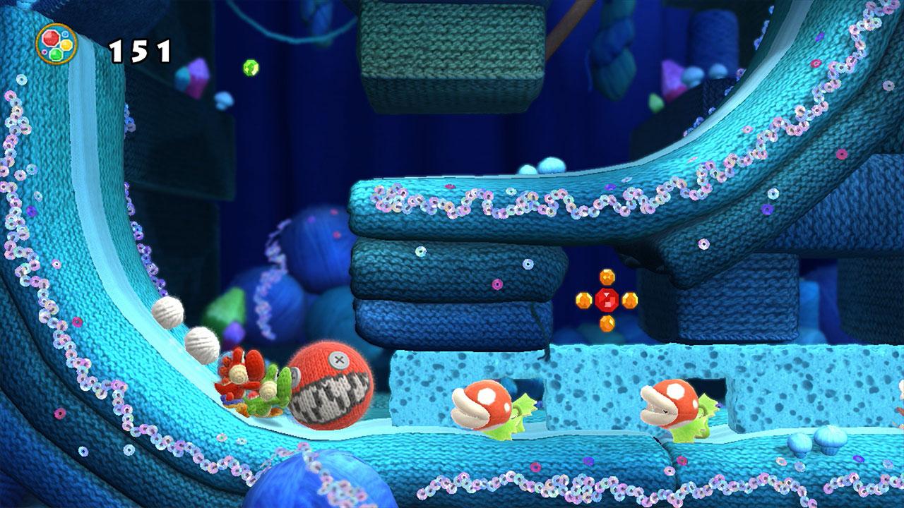 Yoshi's Woolly World MacBook Version gameplay